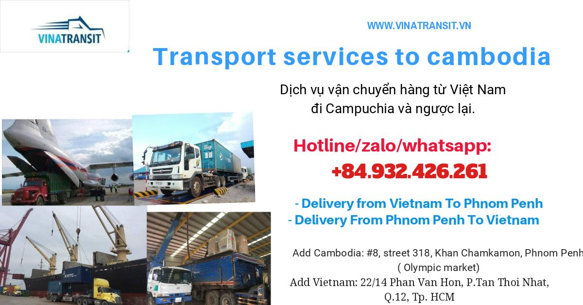 Transport service to cambodia